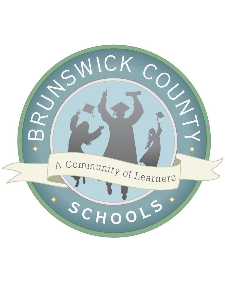 Brunswick County School logo