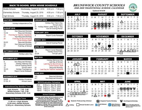 Revised School Calendar