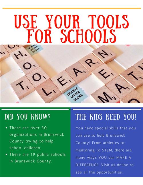 Tools for Schools Flyer