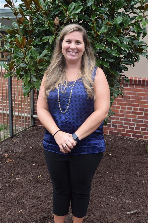 Tara Cumbee - Brunswick County Schools Elementary Teacher of the Year 2017-18 and VFW NC Elementary Teacher of the Year