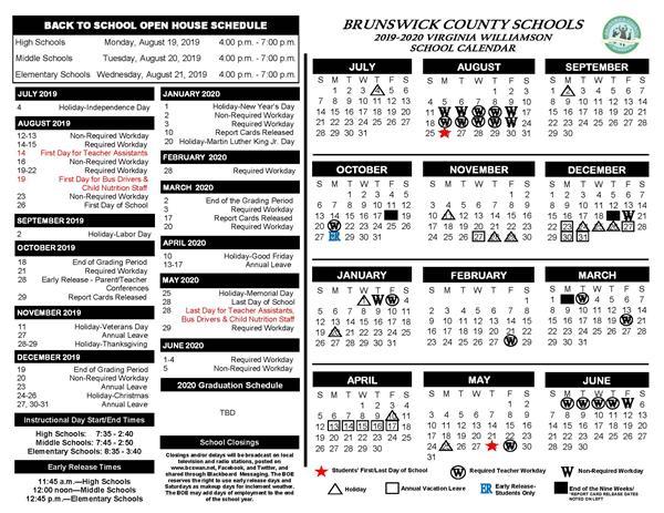 Williamson County School Calendar 2019 2020 School Calendars Now Available