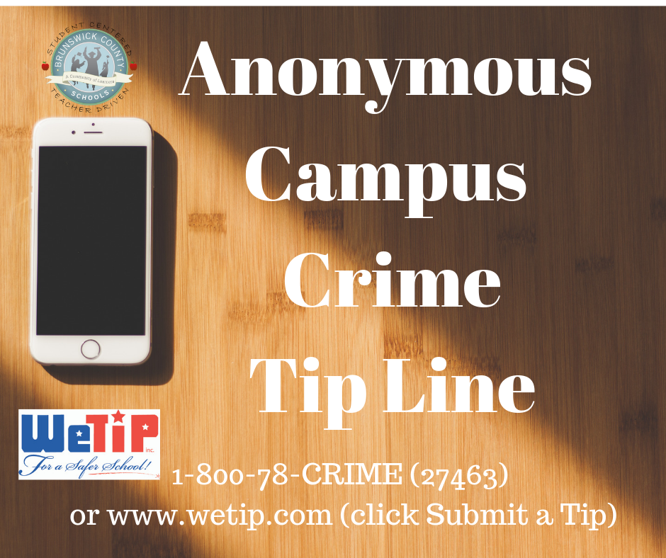 1-800-78-CRIME (27463) or www.wetip.com (click Submit a Tip)