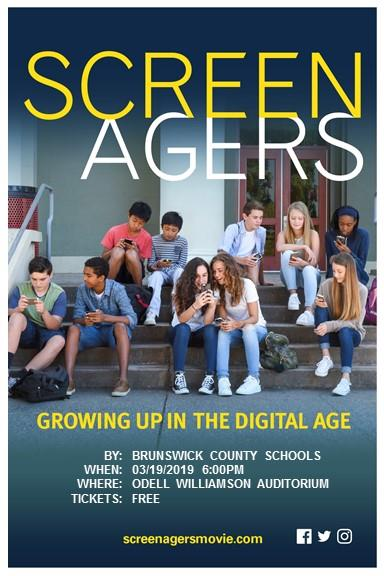 Screenagers Poster flyer