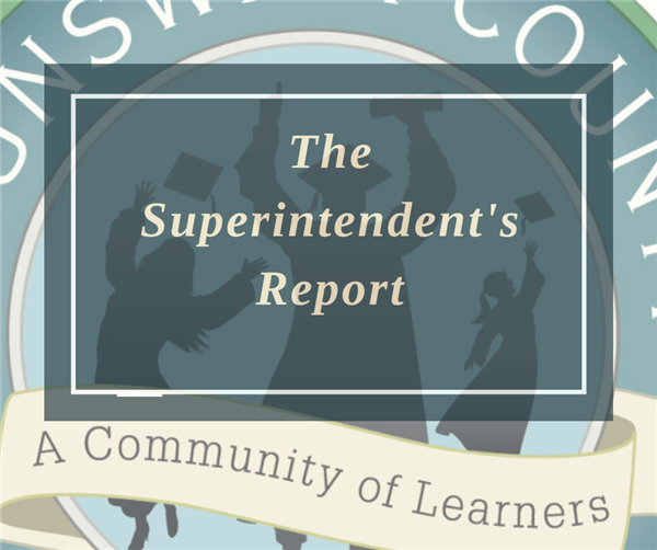 The Superintendent's Report logo