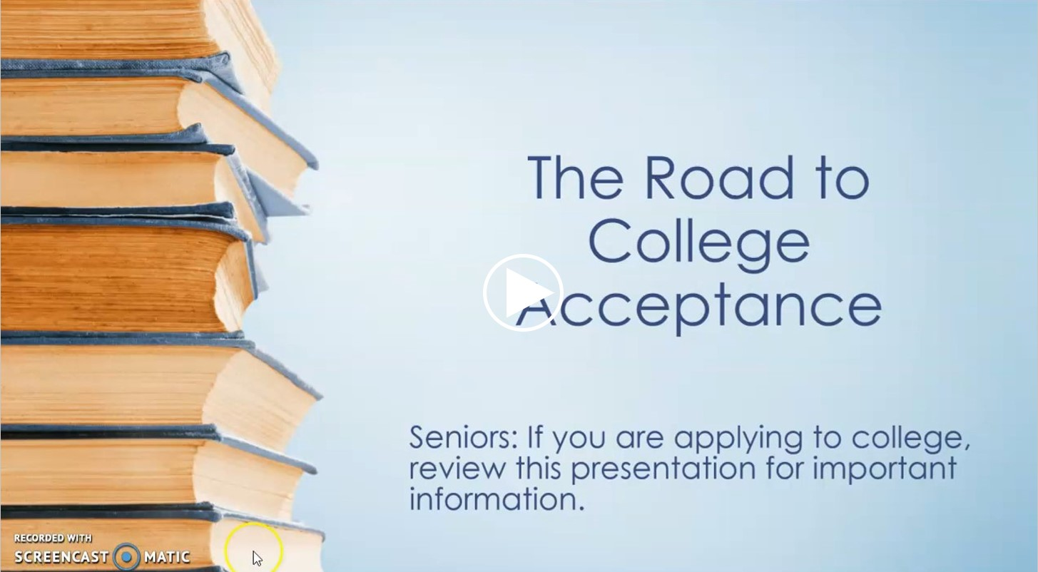 The Road to College Acceptance