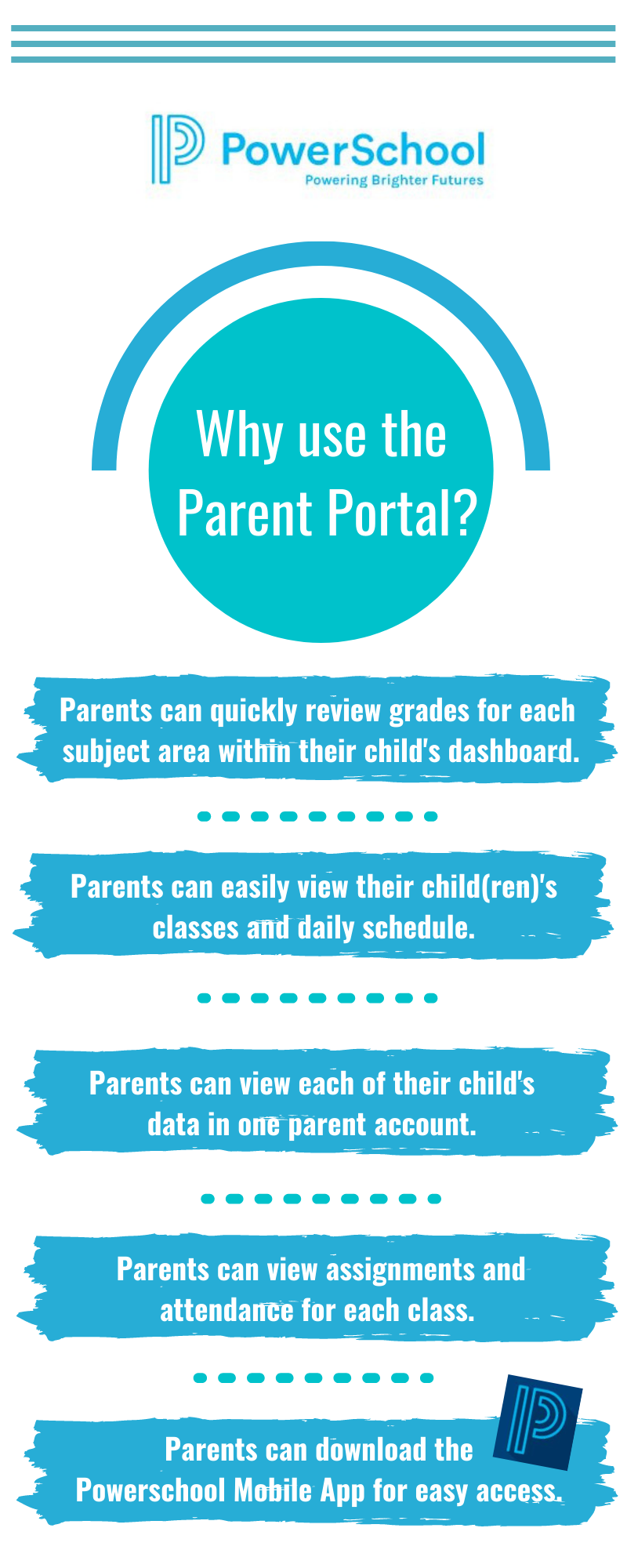 Why use the Parent Portal?